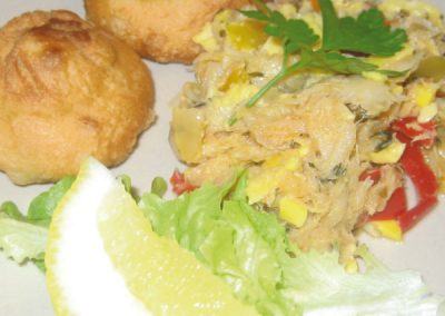 Ackee & Salt Fish