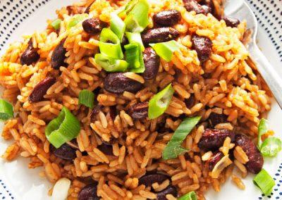 Jamaican Style Rice & Peas