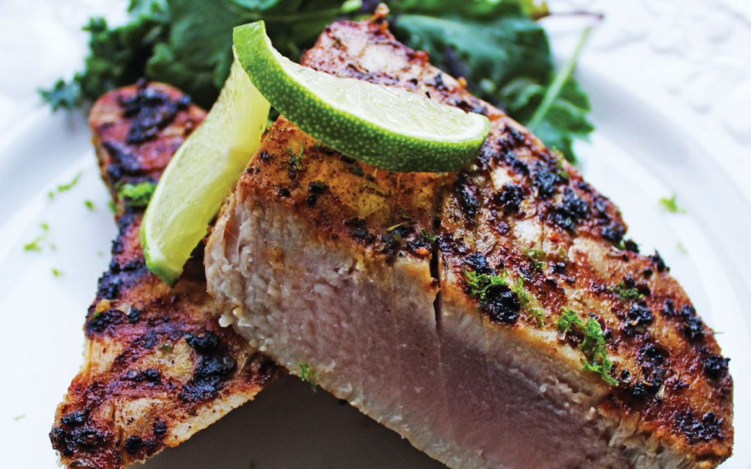 Grilled Lime Tuna