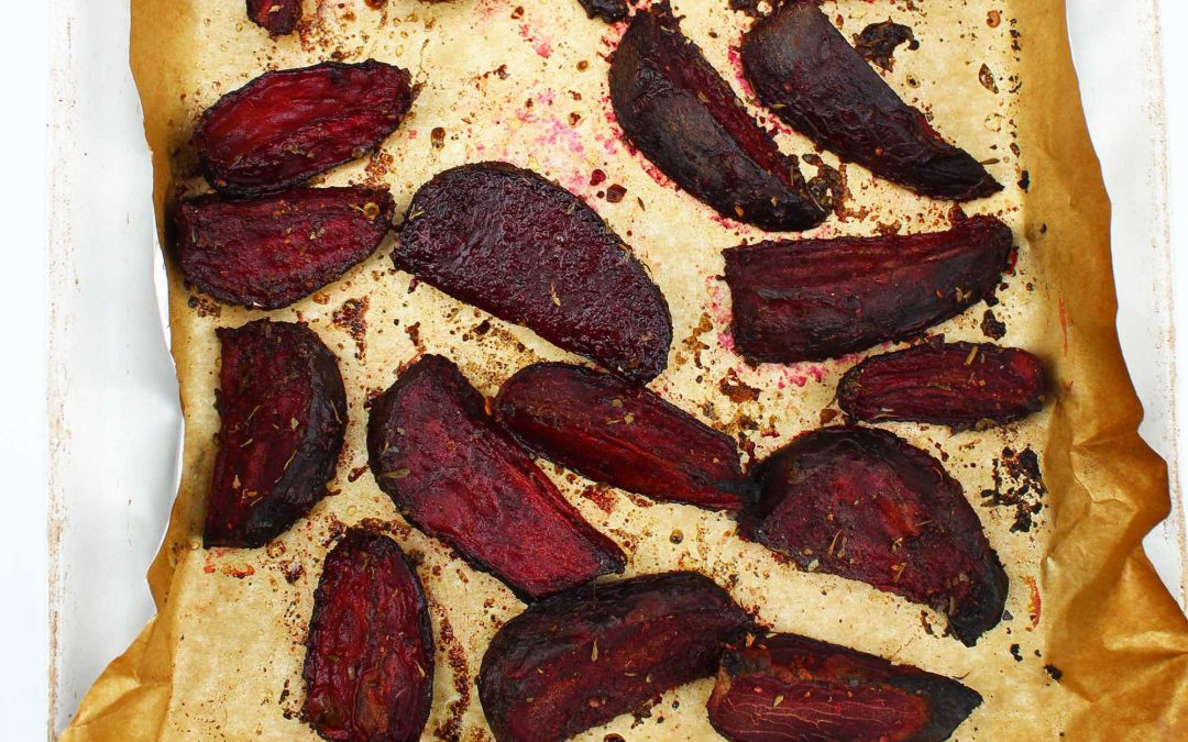 Roasted Jerk Beetroot Wedges