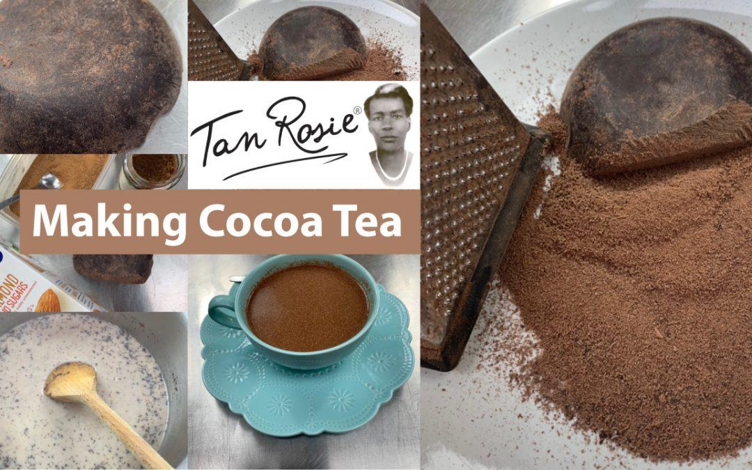 Making Cocoa Tea